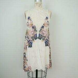 NEW Free People Intimate Marsha Printed Slip Dress